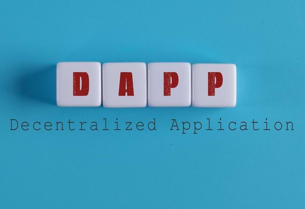 DApp - decentralized Application Abbildung