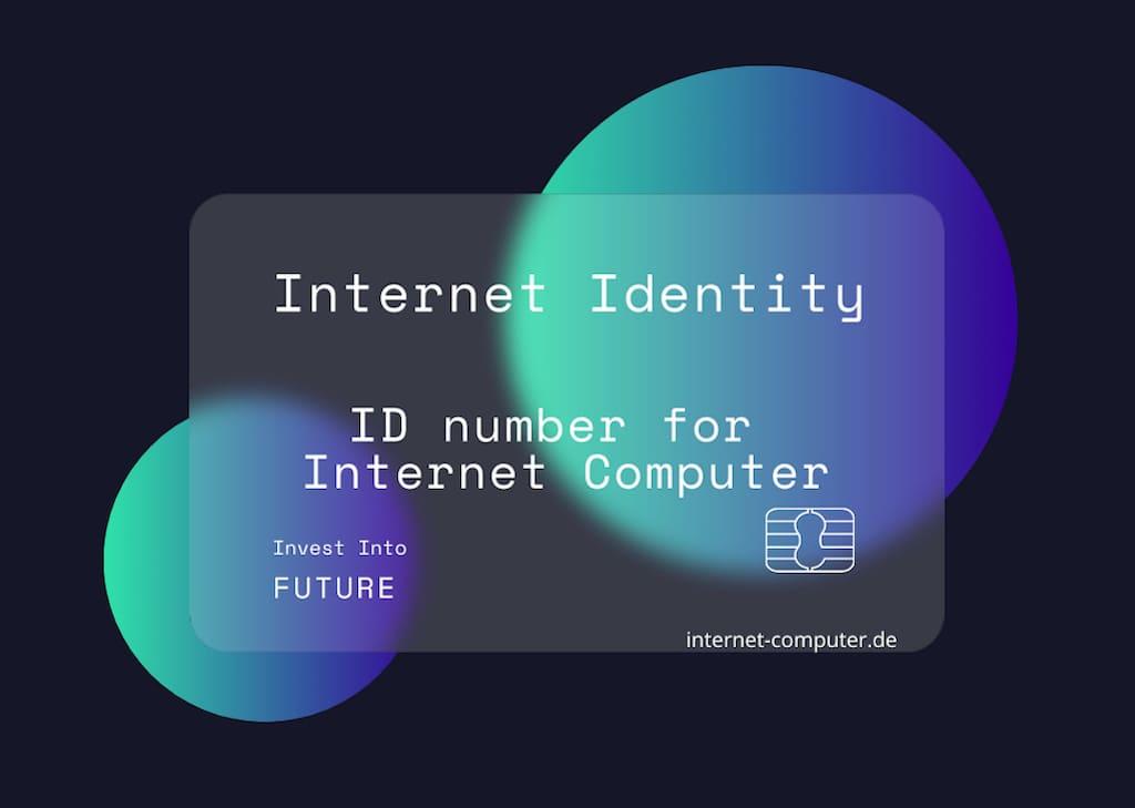 Internet Identity für den Internet Computer
