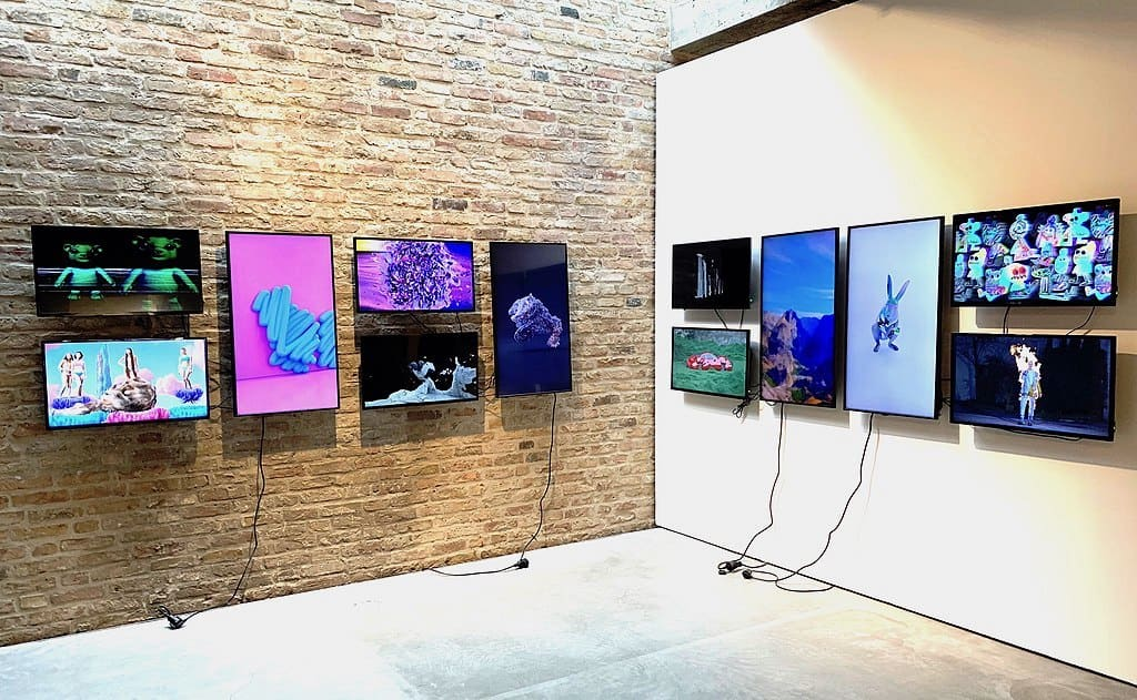 NFT Objekte in der König Galerie Berlin